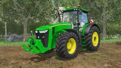 John Deere 7290R&8370R IC control para Farming Simulator 2015