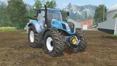 New Holland T7.240 cielo español bluᶒ para Farming Simulator 2015
