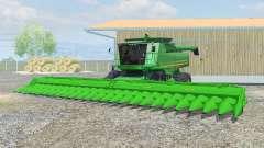 John Deere 9770 STS dual front wheels para Farming Simulator 2013