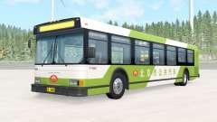 Wentward DT40L Green Beijing Bus para BeamNG Drive
