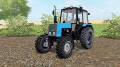 MTZ-Belarús 1021 color azul para Farming Simulator 2017