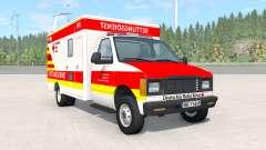 Gavril H-Series German Ambulance v1.3 para BeamNG Drive