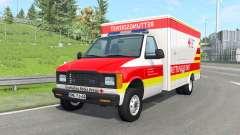Gavril H-Series German Ambulance v1.4 para BeamNG Drive