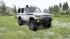 Toyota Land Cruiser 70 (J76) 2007 ICRC para MudRunner