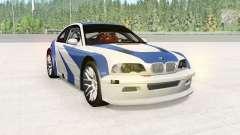 BMW M3 GTR (E46) NFS MW Edition para BeamNG Drive