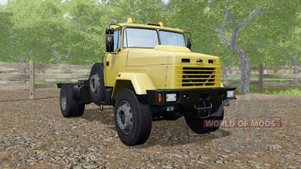 KrAZ-5133 color amarillo para Farming Simulator 2017