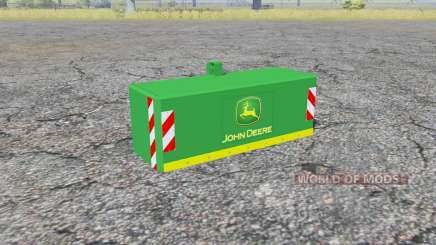 Weight John Deere para Farming Simulator 2013