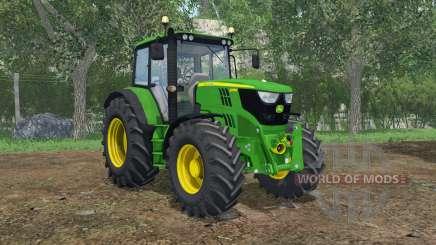 John Deere 6115M FL console para Farming Simulator 2015