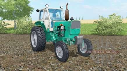 UMZ-6КЛ Caribe de color verde para Farming Simulator 2017