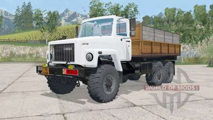GAZ-3309 triaxial para Farming Simulator 2015