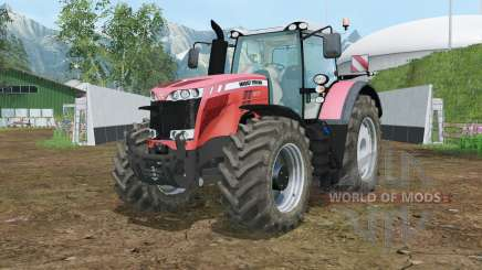 Massey Ferguson 8737 wheels shader para Farming Simulator 2015