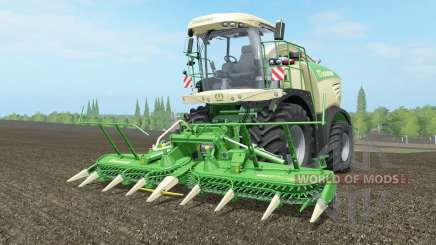 Krone BiG X 580 largo ꝓipe para Farming Simulator 2017