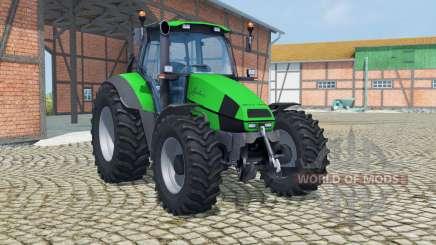 Deutz-Fahr Agrotron 120 Mk3 vivid malachite para Farming Simulator 2013