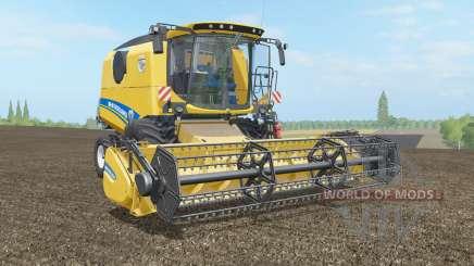New Holland TC4.90 & Varifeed 18FT para Farming Simulator 2017