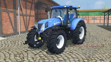 New Holland T7.210 change wheels para Farming Simulator 2013