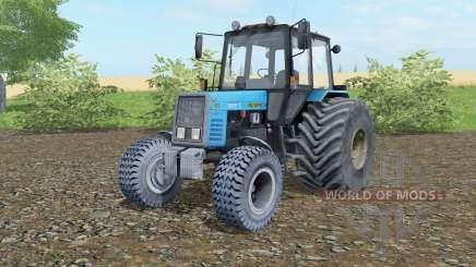 MTZ-892 Belarús ruedas anchas para Farming Simulator 2017