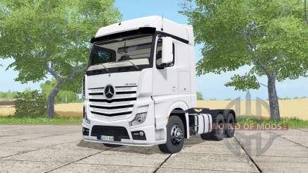 Mercedes-Benz Actros LS BigSpace (MP4) para Farming Simulator 2017