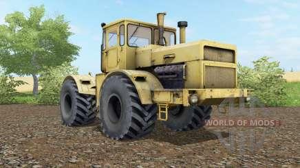 Kirovets K-700A suave color amarillo para Farming Simulator 2017