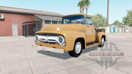 Ford F-100 Custom Cab 1956 v1.2 para American Truck Simulator