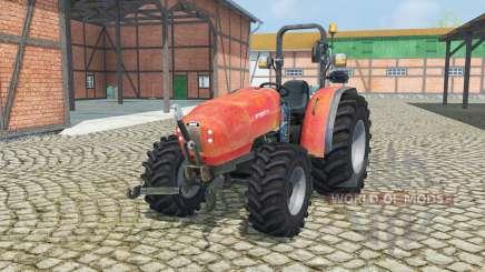 Mismo Argon3 75 con doble neumáticos para Farming Simulator 2013