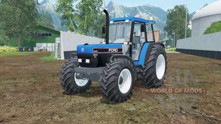 Ford 7840 rich electric blue para Farming Simulator 2015