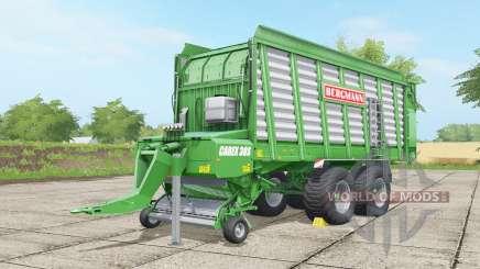 Bergmann Carex 38S pigment green para Farming Simulator 2017