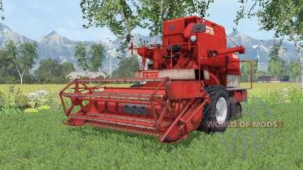 Fahr M66 twin wheels para Farming Simulator 2015