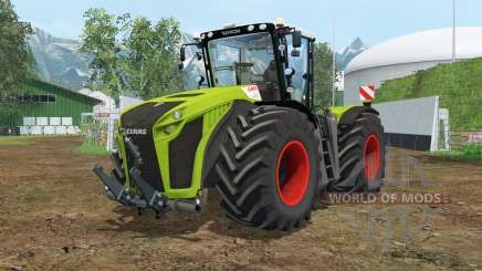 Claas Xerion 5000 Trac VC wheel shader para Farming Simulator 2015