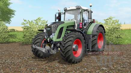 Fendt 936 Vario wheel options para Farming Simulator 2017