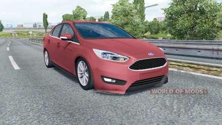Ford Focus sedan (DYB) 2015 para Euro Truck Simulator 2