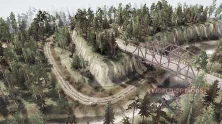 La intersección de los seis caminos para MudRunner