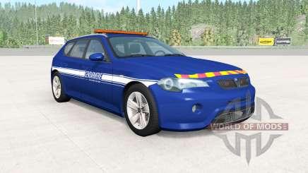 ETK 800-Series Gendarmerie para BeamNG Drive