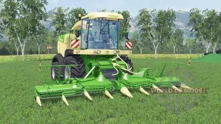 Krone BiG X 580 lima greeɳ para Farming Simulator 2015