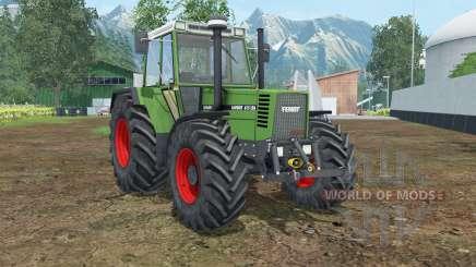 Fendt Favorit 615 LSA Turbomatik E para Farming Simulator 2015