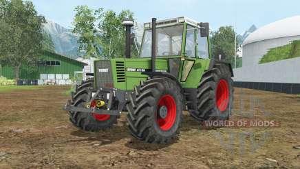Fendt Favorit 615 LSA Turbomatiƙ E para Farming Simulator 2015