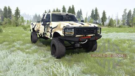 Ford F-350 Super Duty Extended Cab para MudRunner