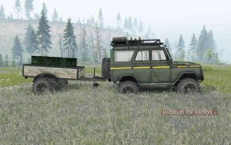 UAZ-31514 para Spin Tires