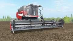 Laverda M410 alizarin crimson para Farming Simulator 2017