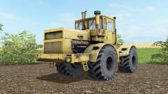 Kirovets K-700A amarillo suave okra para Farming Simulator 2017