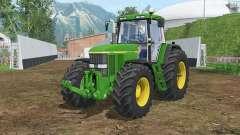 John Deere 7810 north texas green para Farming Simulator 2015