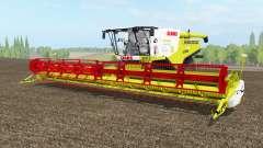 Claas Lexion 780 TᶒrraTraꞔ para Farming Simulator 2017