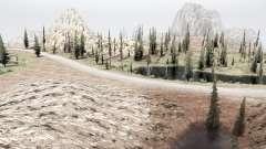 En la frontera de Utah y Nevada para MudRunner