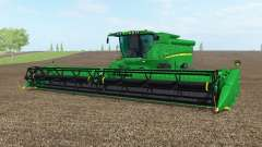 John Deere S690i el norte de texas greeᶇ para Farming Simulator 2017