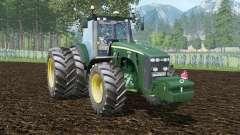 John Deere 8530 green pea para Farming Simulator 2015