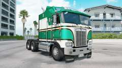 Kenworth K100E munsell green para American Truck Simulator
