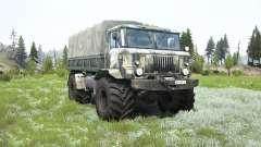 GAZ-66 Chamán para MudRunner