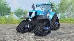 New Holland T7030 track systems para Farming Simulator 2013