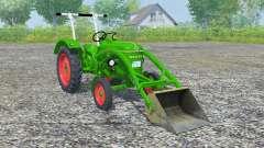 Deutz D 30 front loader para Farming Simulator 2013