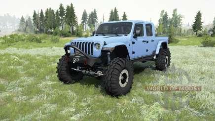 Jeep Gladiator (JT) 2019 para MudRunner