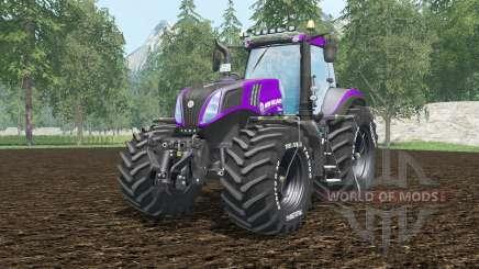 New Holland T8.420 vivid mulberry para Farming Simulator 2015